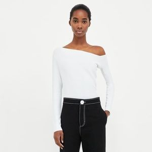 NEW Zara off the shoulder white top
